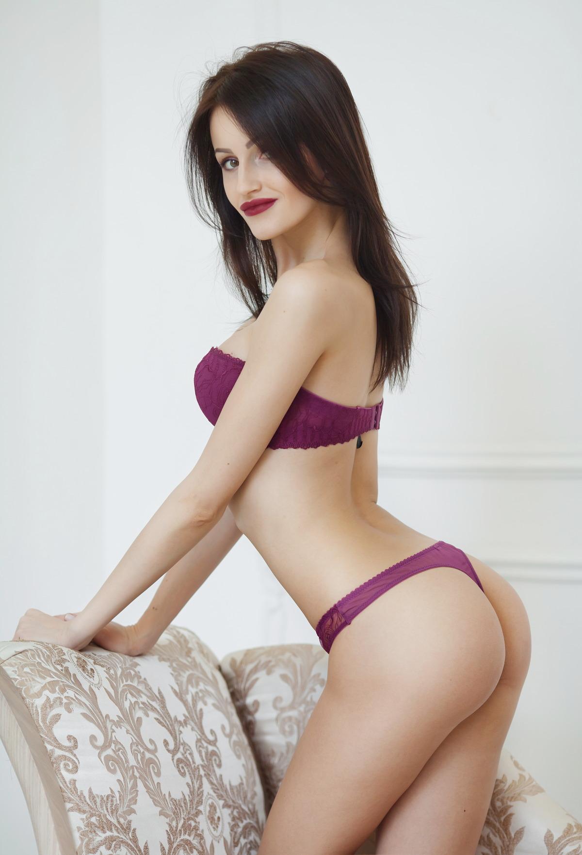 Sexy Girl zeigt Knackpo