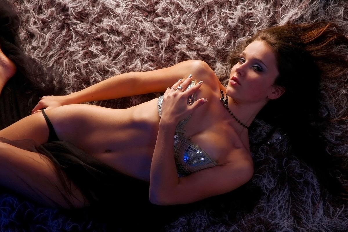 Sexy Disco-Girl