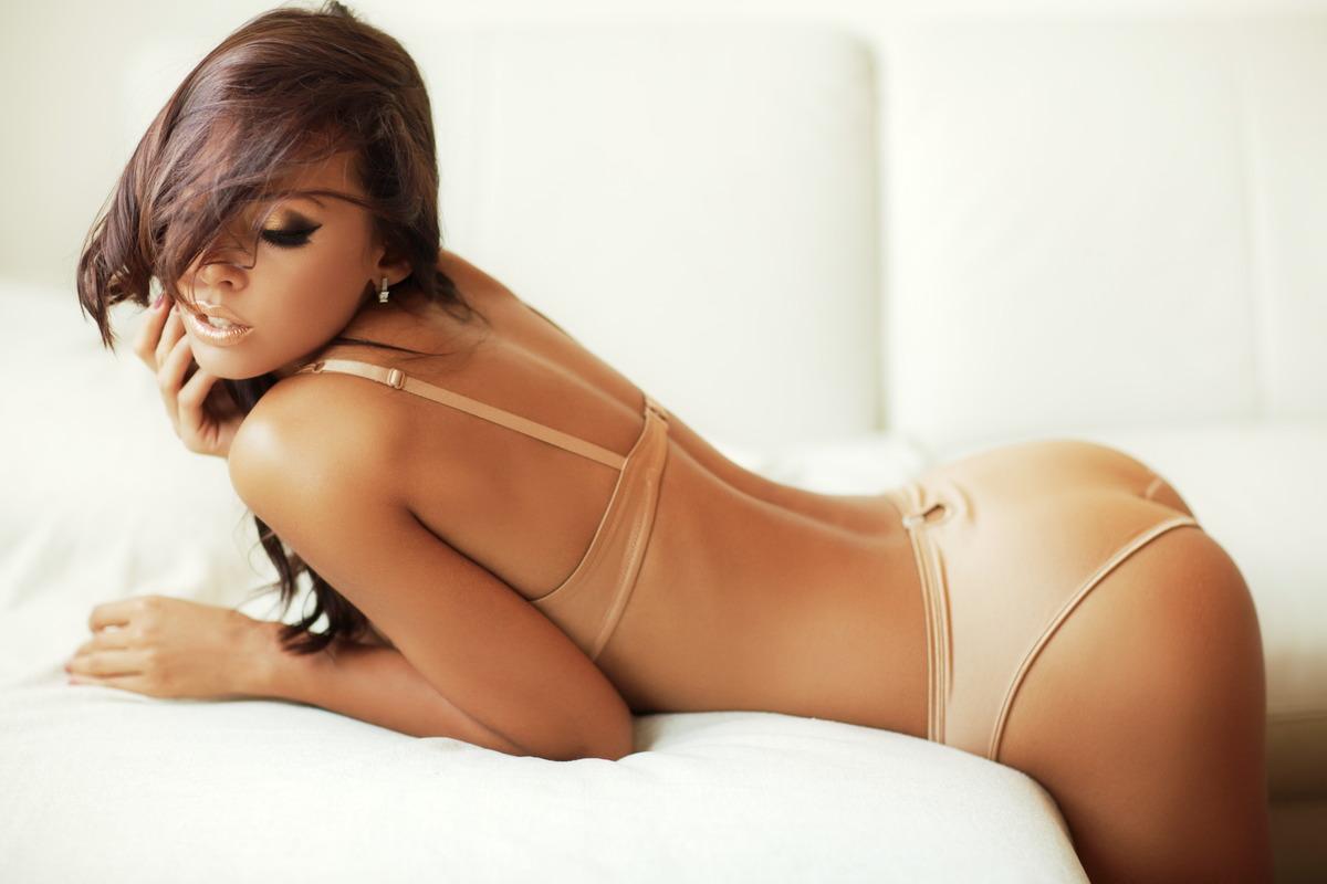 Sexy Girl zeigt ihren Po