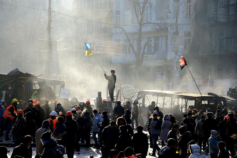 Ausschreitungen in der Ukraine
