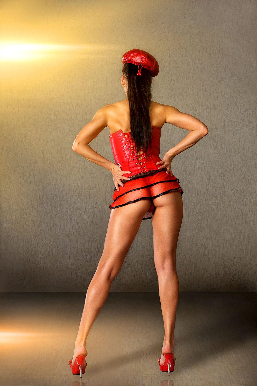 Sexy Burlesque Tänzerin