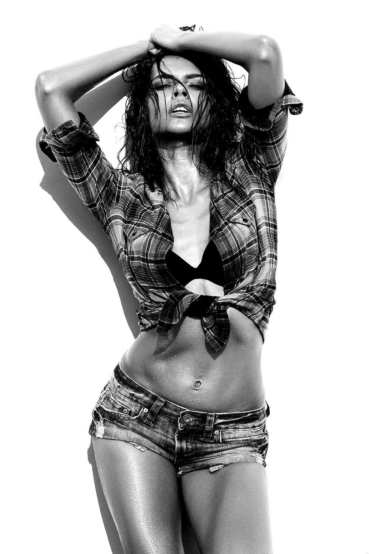 Sexy Holzfäller Girl
