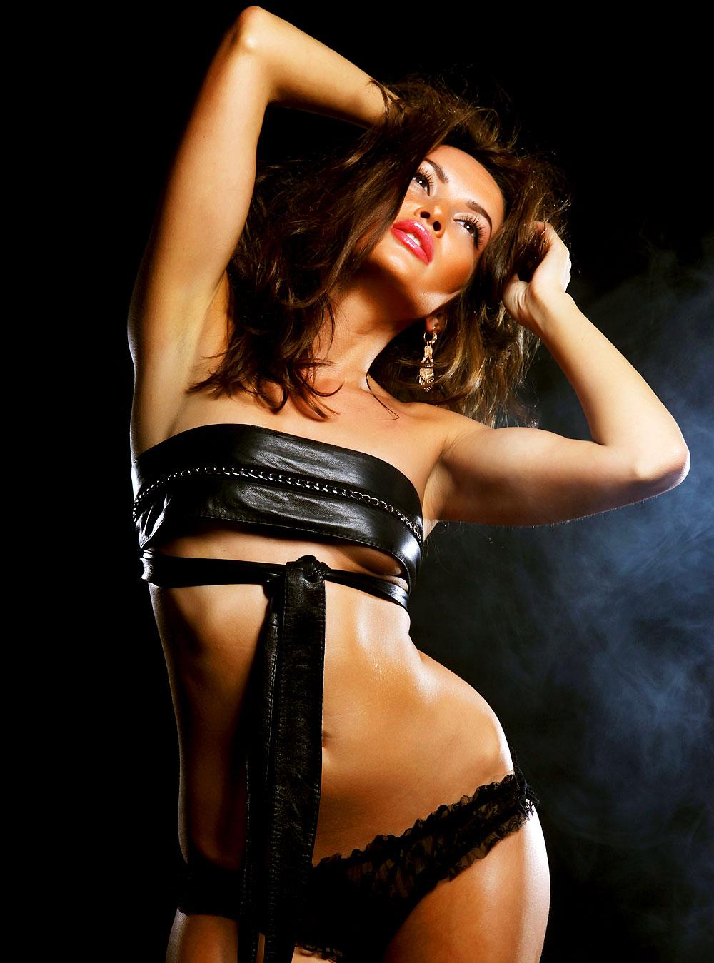 Sexy Ledergirl