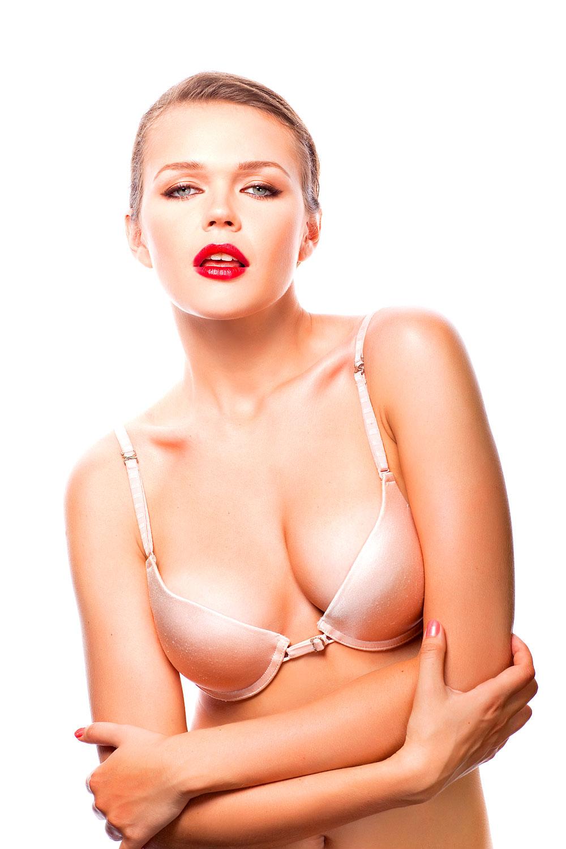 Sexy blonder Vamp