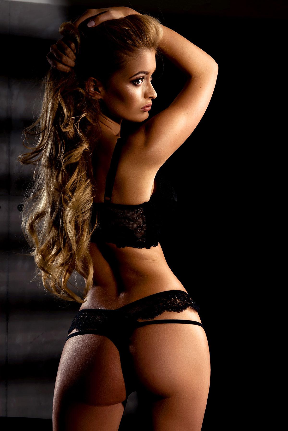 Sexy Girl von hinten