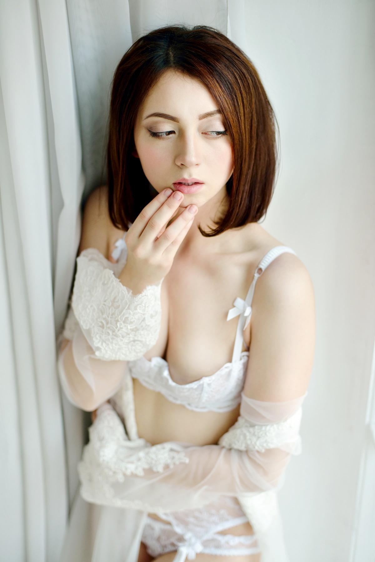 Sexy Girl versteckt sich