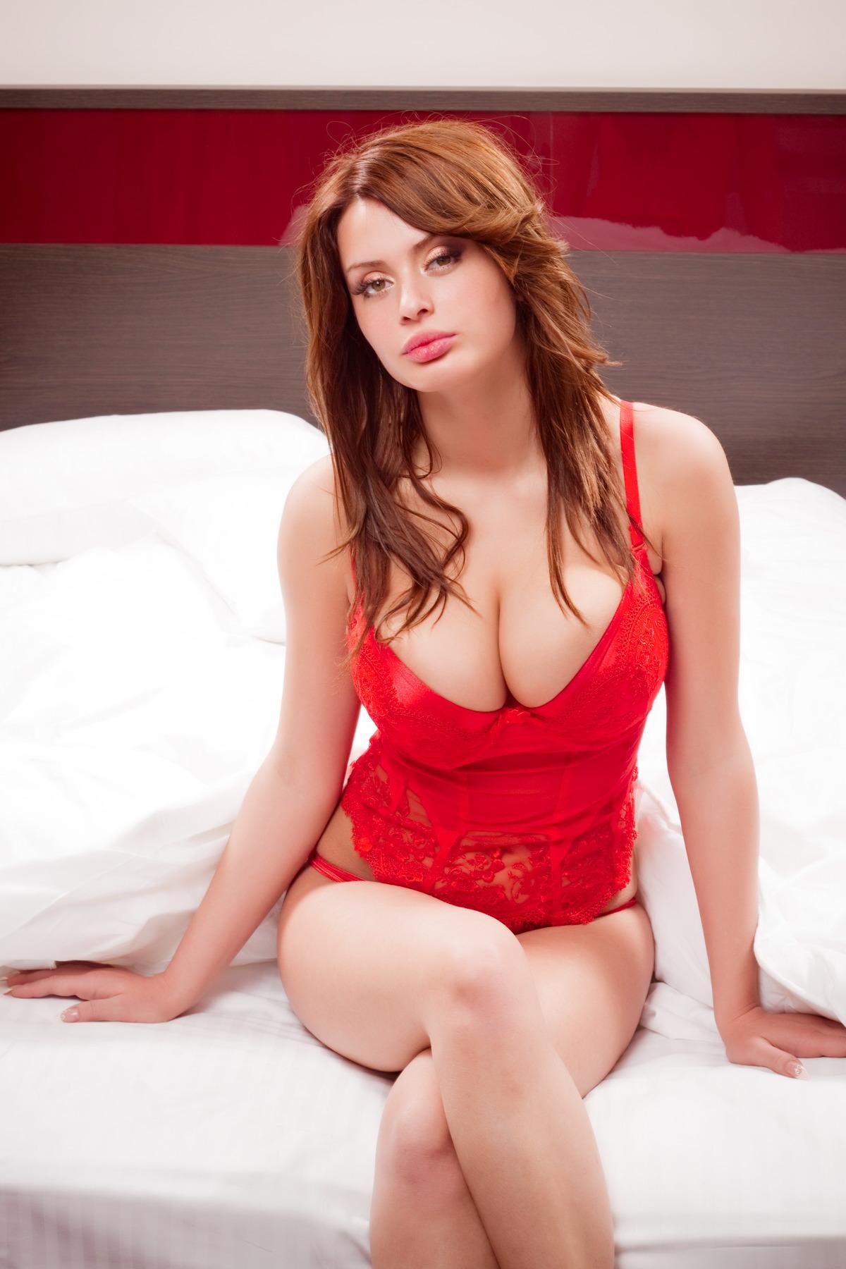 Sexy Girl ist bereit