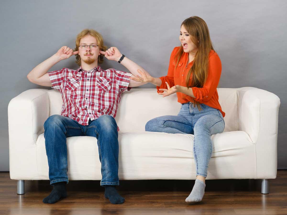 Worüber streiten Paare?